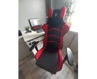 Silver Monkey SMG-450 (Czarno-Czerwony) Tkanina - Akens